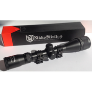 Nikko Stirling Mount Master AO Half Mil Dot 3-9x40